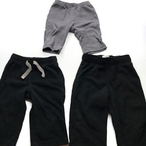 Baby Sweatpants Gray and Black (3 Sizes) A020787